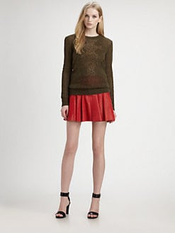 Thakoon Addition - Open-Knit Sweater