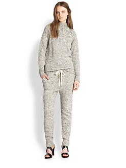 Thakoon Addition - Marled Mockneck Sweater