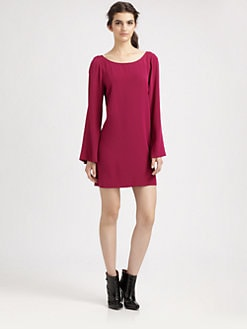 Elizabeth and James - Dani Bell-Sleeve Dress