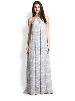 10 Crosby Derek Lam - Silk Printed Chiffon Maxi Dress
