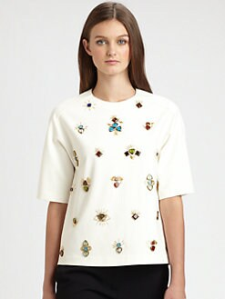3.1 Phillip Lim - All Eyes On You Embellished Top