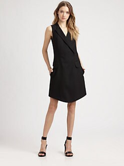 Carven - Stretch-Wool Sheath Dress
