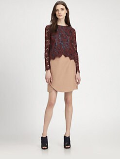 Carven - Cornelia Lace Top