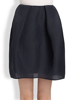 Carven - Gazar Pleated Skirt
