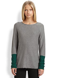 T by Alexander Wang - Colorblock Sweater