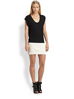 T by Alexander Wang - Colorblock Tunic