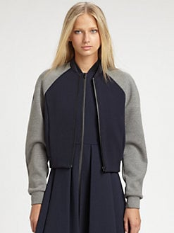T by Alexander Wang - Neoprene Bomber Jacket