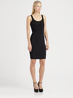 Cut 25 by Yigal Azrouel - Chiffon Applique Dress