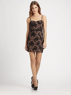 Haute Hippie - Lace Corset Dress