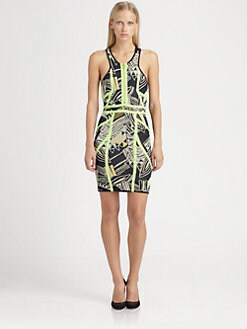 Cut 25 by Yigal Azrouel - Techno Bodycon Dress