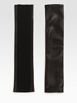 Cut 25 by Yigal Azrouel - Fingerless Leather Gloves