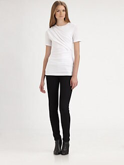 T by Alexander Wang - Pleated Tee