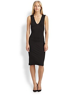 T by Alexander Wang - Jersey Tank Dress