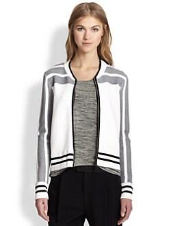 Rag & Bone - Sammi Striped Knit Jacket