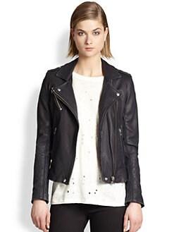 IRO - Tara Leather Motorcycle Jacket