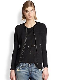 IRO - Clever Tweed Moto Jacket