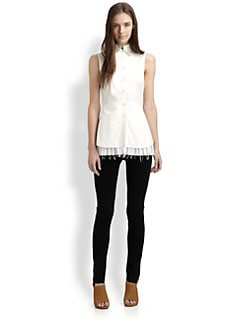 10 Crosby Derek Lam - Pleated Blouse