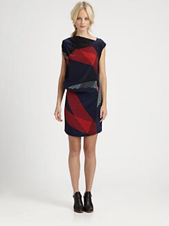 10 Crosby Derek Lam - Draped Silk Dress