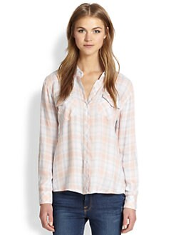 Rails - Carmen Plaid Button-Down Shirt