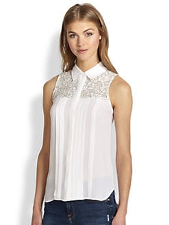 Generation Love - Lace Combo Heidi Top