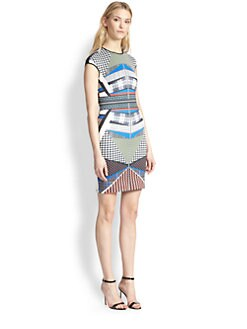 Clover Canyon - Printed Body-Con Dress
