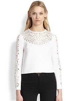 Clover Canyon - Laser-Cut Neoprene Top