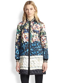Clover Canyon - James Joyce Printed Quilted Jacket