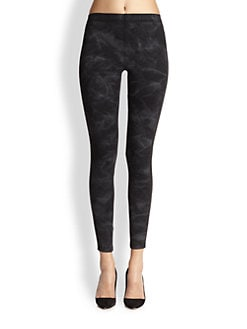 David Lerner - Smoke-Print Leggings