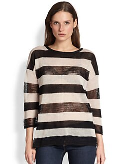 Design History - Sheer Striped Sweater