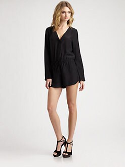 Parker - Short Silk Jumpsuit