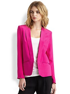 Parker - Silk Crepe Blazer
