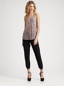 Parker - Splattered Sequin Top