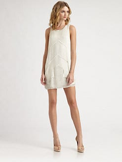 Parker - Architect Beaded Silk Dress