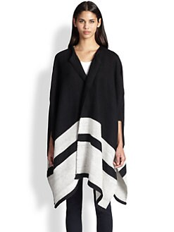 Apiece Apart - Katz Striped Poncho Cardigan