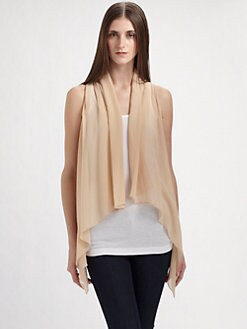 Maggie Ward - Silk Chiffon Vest