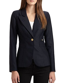 Smythe - One-Button Blazer