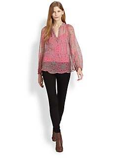 Ella Moss - Mystic Silk Chiffon Blouse