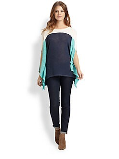 Ella Moss - Harper Cutout Poncho Top