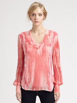 Red Haute - Tie-Dye Top