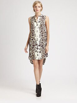 Mara Hoffman - Leopard-Print Shirtdress
