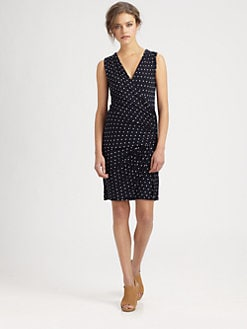 Bailey 44 - Equestrian Polka-Dot Dress