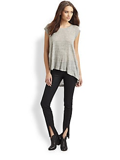 Wilt - Silk-Blend Hi-Lo Tee