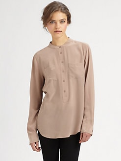 Equipment - Ava Silk Shirt