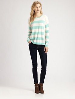 Design History - Striped Boyfriend Sweater