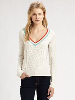 Design History - Cable Tennis Sweater