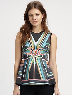 Clover Canyon - Midnight Diner Peplum Top