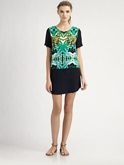 Sam & Lavi - Belem Printed Shift Dress