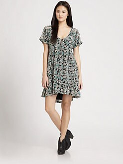 PJK Patterson J. Kincaid - Jessamie Floral-Print Dress