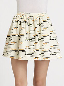 PJK Patterson J. Kincaid - Ralin Printed Skirt