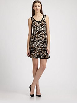 Torn - Luciana Scoopback Dress